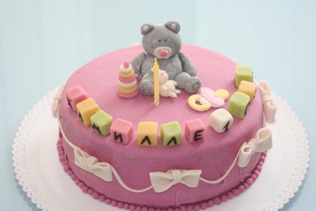Детские торт из мастики своими руками рецепт с фото