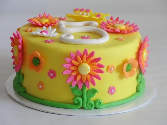 Фото красивых тортов для детей